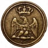 Bottoni e placche delle uniformi del Regno Italico 1805-1814 – G. Centanni