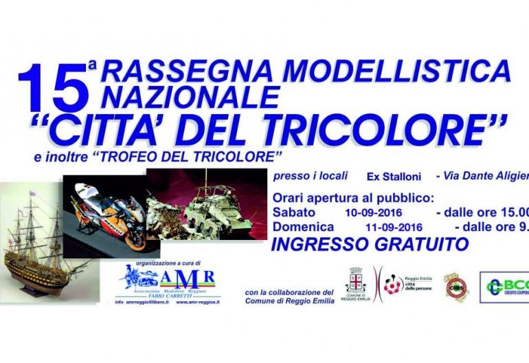 """Palmares Alfa Model Club 15′ RASSEGNA MODELLISTICA NAZIONALE """"CITTA' DEL TRICOLORE"""""""