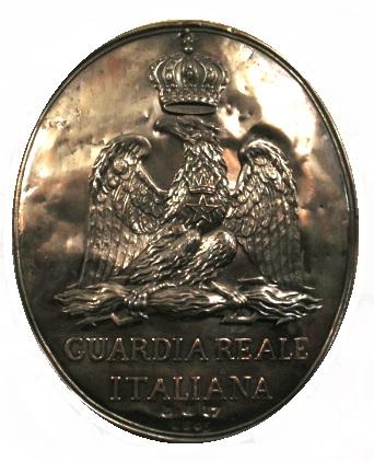 Placca Guardia Reale Italiana Salon de l'Emperie