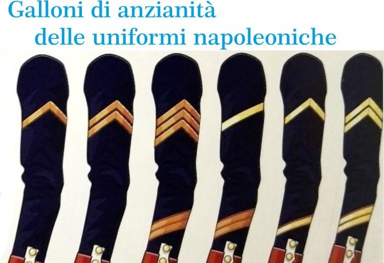 Galloni di anzianità delle uniformi napoleoniche – G. Centanni