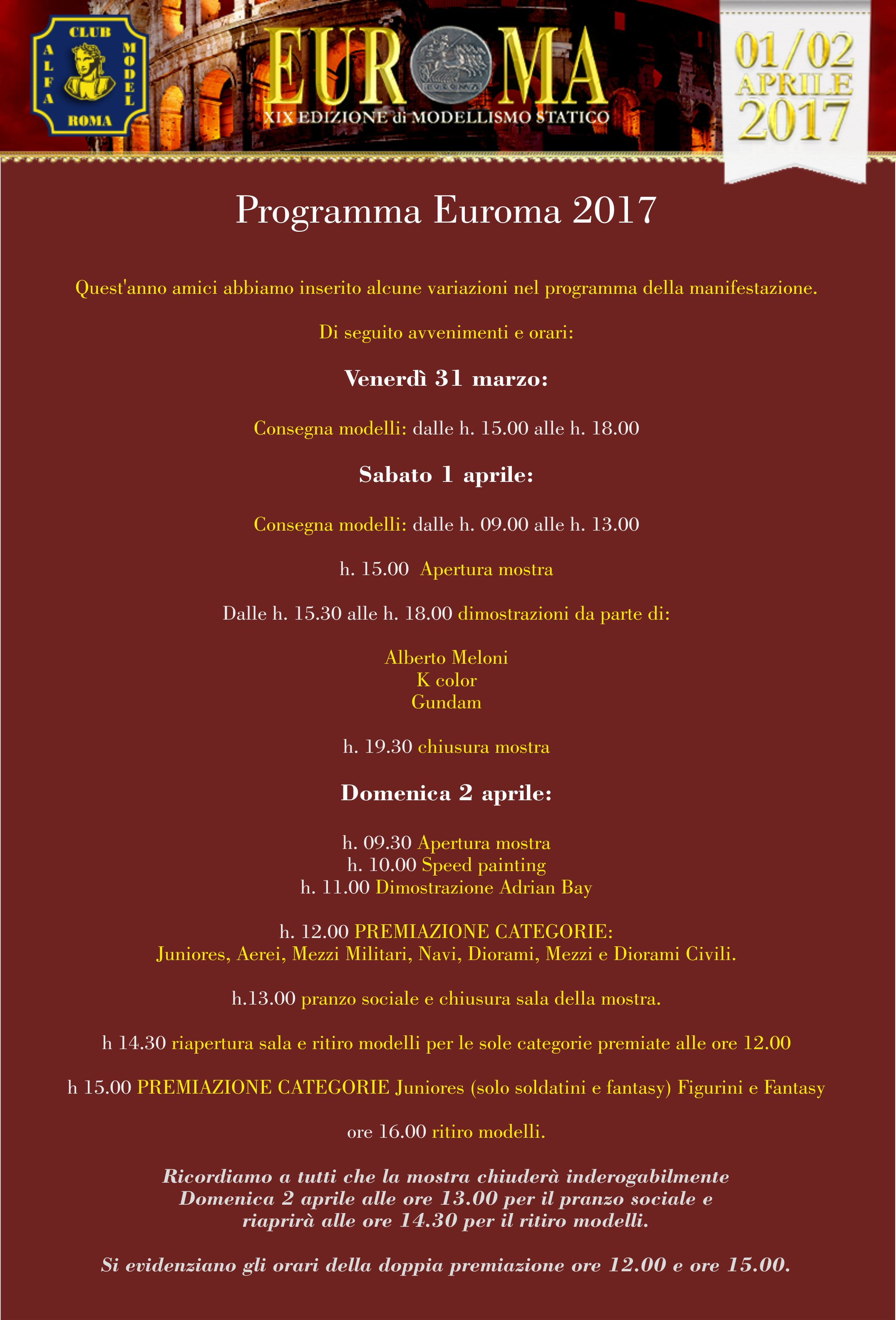 post programma