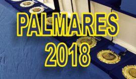 PALMARES EUROMA 2018
