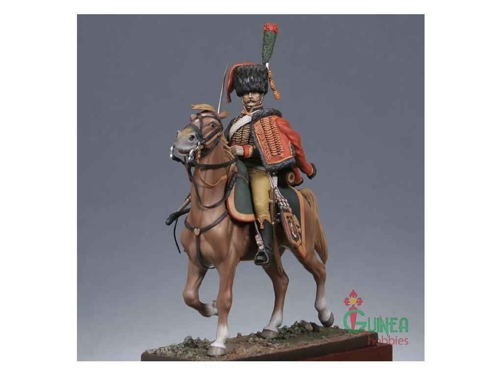 metal-modeles-1st-empire-mm-127-54-mm-chasseur-a-cheval-de-la-garde-grande-tenue