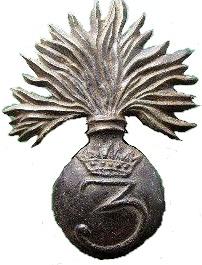 Granata con corona 3° Rgt
