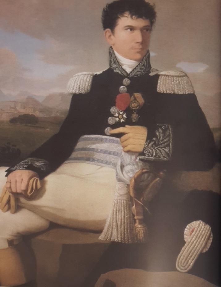 Dipinto Conte Luigi Mazzucchelli