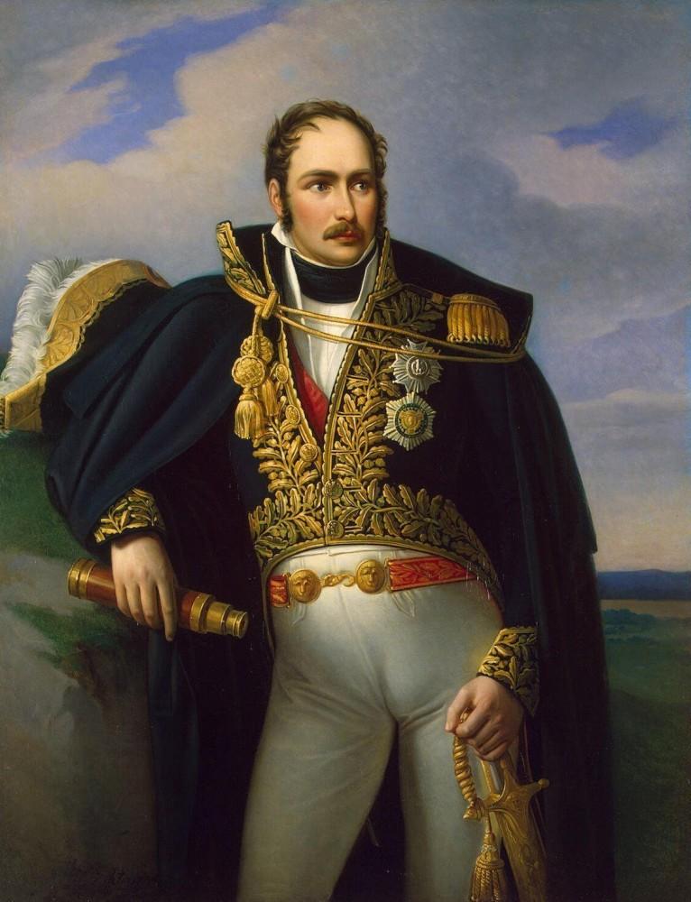 Dipinto Eugene de Beauharnais generale
