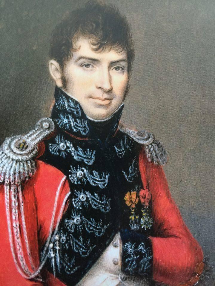 Dipinto Gaetano Battaglia, Colonnello Guardia d'Onore di Milano - Museo Civico Bologna
