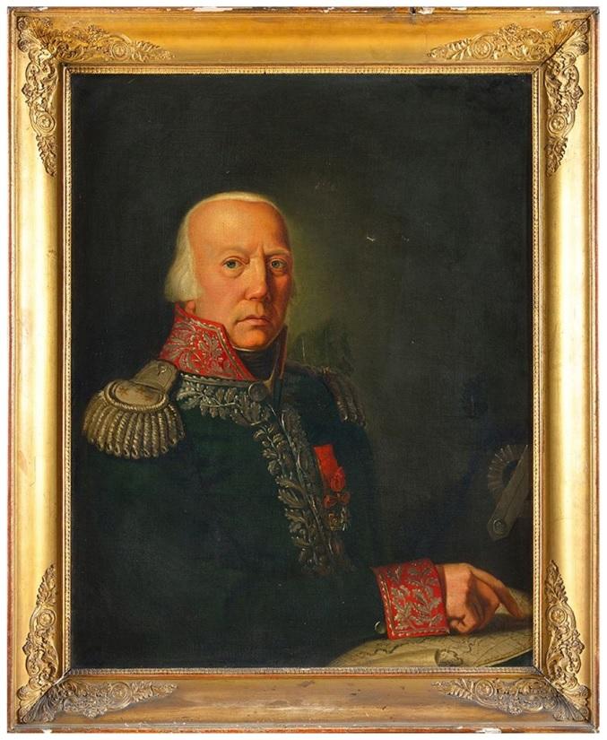 Dipinto Generale Pasquale Antonio Fiorella - Osenat