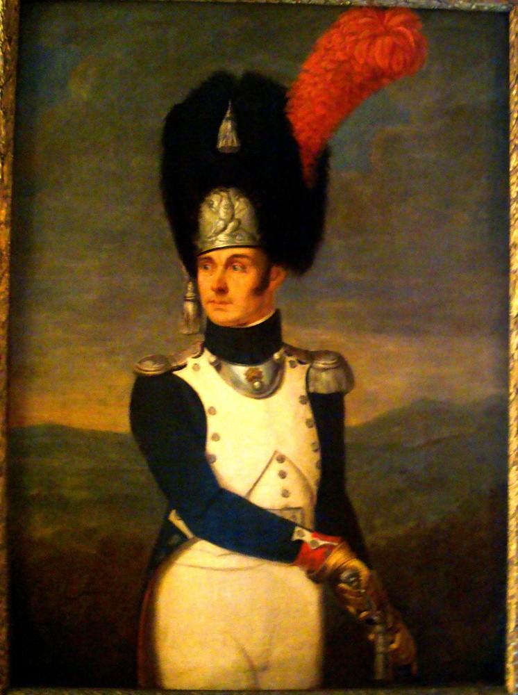 Dipinto Ufficiale Granatieri della Guardia Reale